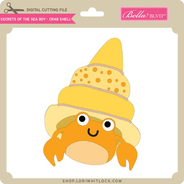 Secrets of the Sea Boy - Crab Shell