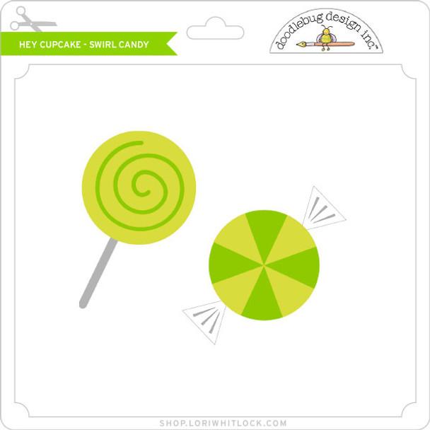 Hey Cupcake - Swirl Candy