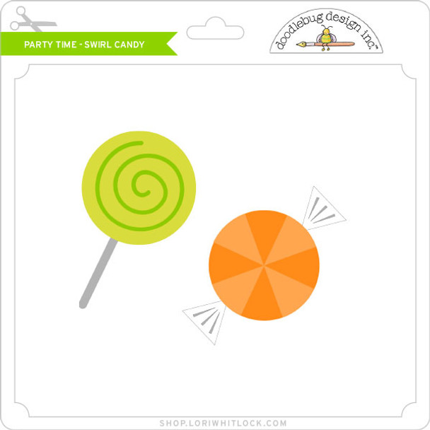 Party Time - Swirl Candy
