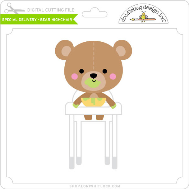 Special Delivery - Bear Highchair