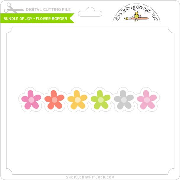 Bundle of Joy - Flower Border