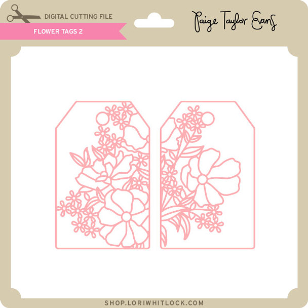 Flower Tags 2