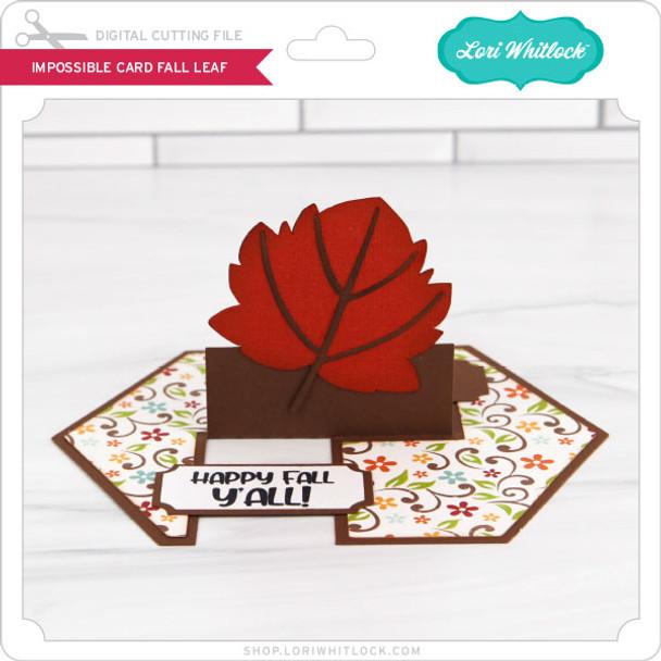 Impossible Card Fall Leaf
