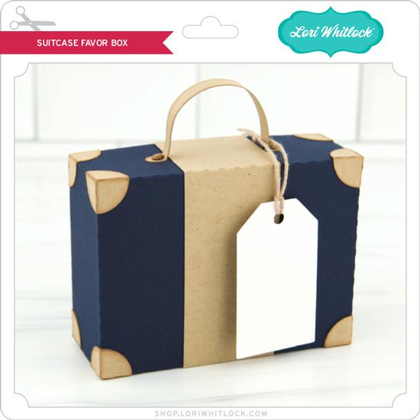 Suitcase Favor Box