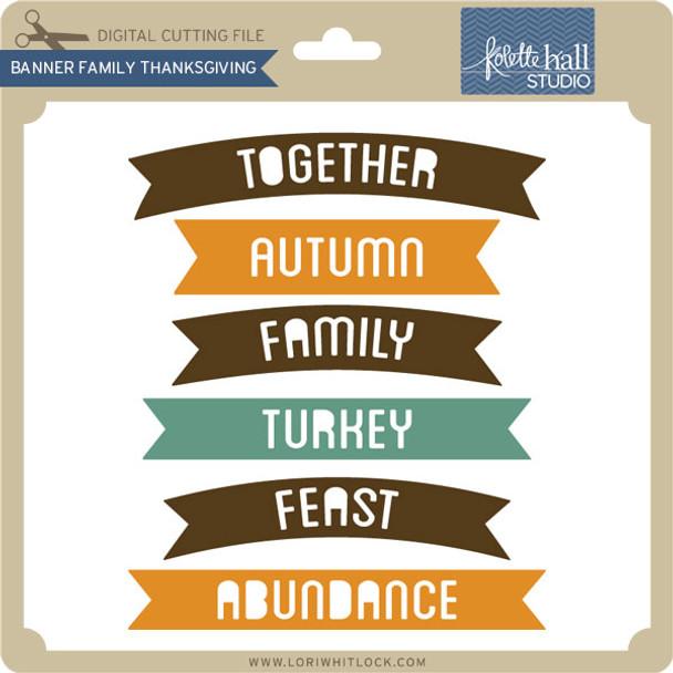 Banner Family Thanksgiving
