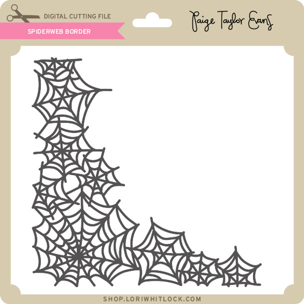 Spiderweb Border