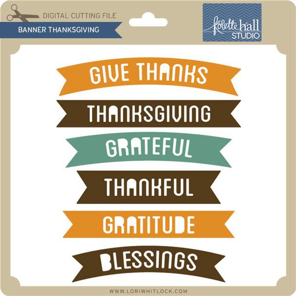 Banner Thanksgiving