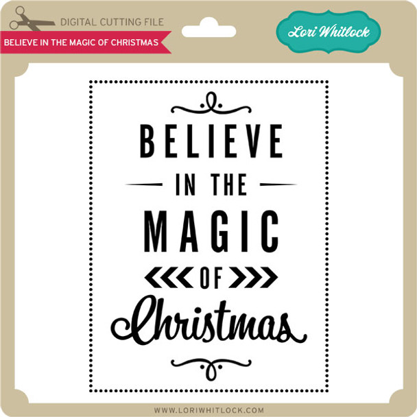 Believe in the Magic of Christmas Vinyl
