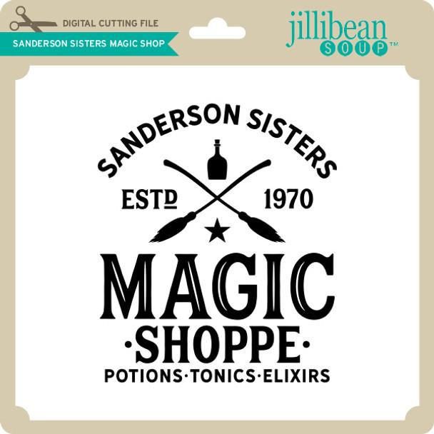 Sanderson Sisters Magic Shop