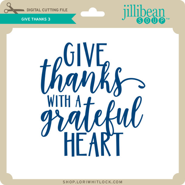 Give Thanks 3