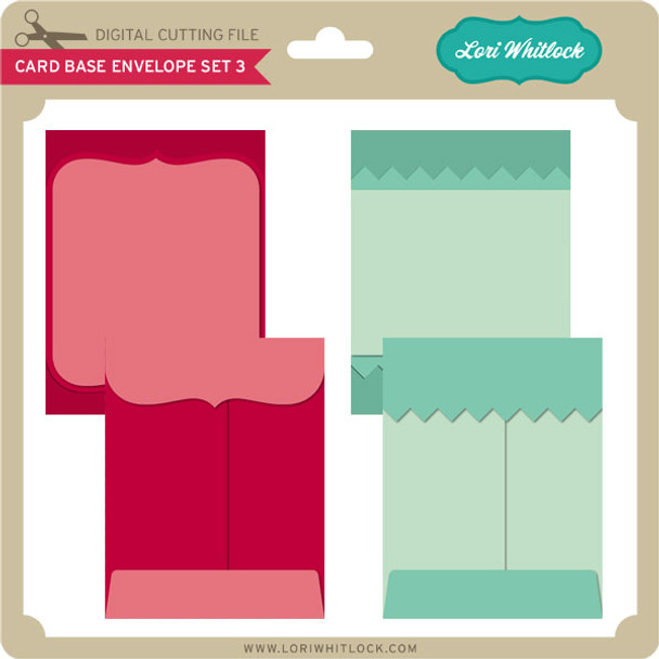Card Base & Envelope Set 3