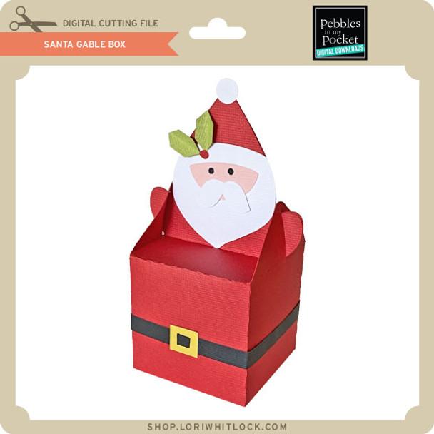 Santa Gable Box