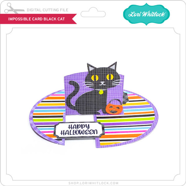 Impossible Card Black Cat