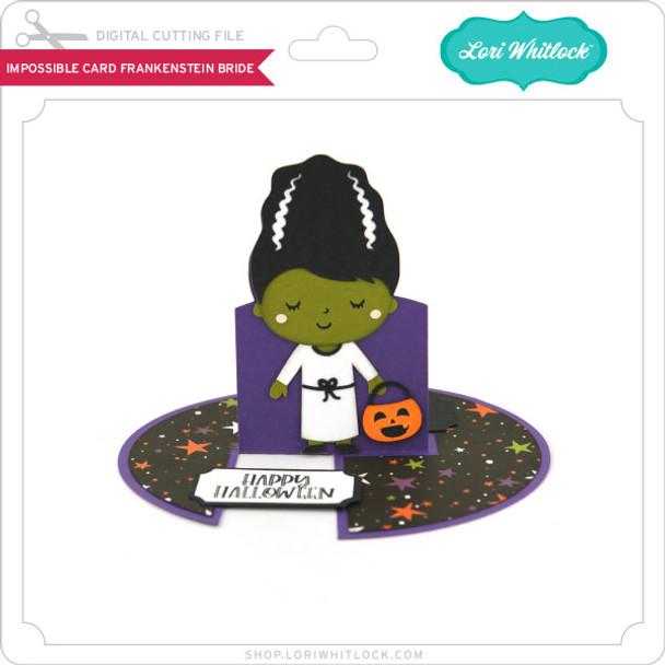 Impossible Card Frankenstein Bride