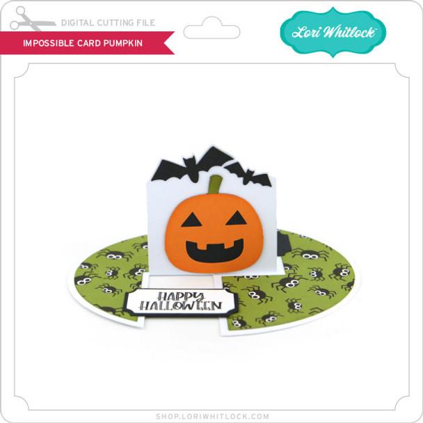 Impossible Card Pumpkin