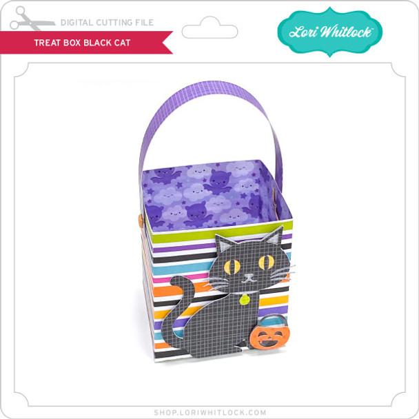 Treat Box Black Cat