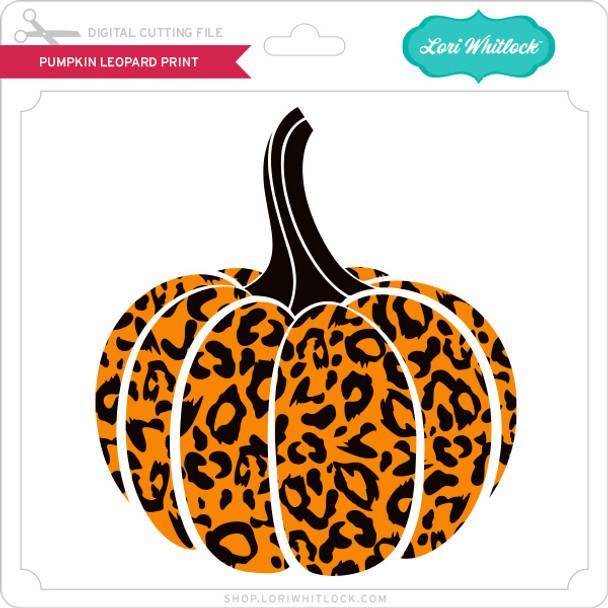 Pumpkin Leopard Print
