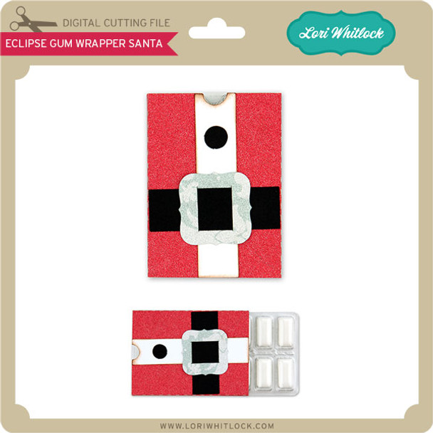 Eclipse® Gum Wrapper Santa