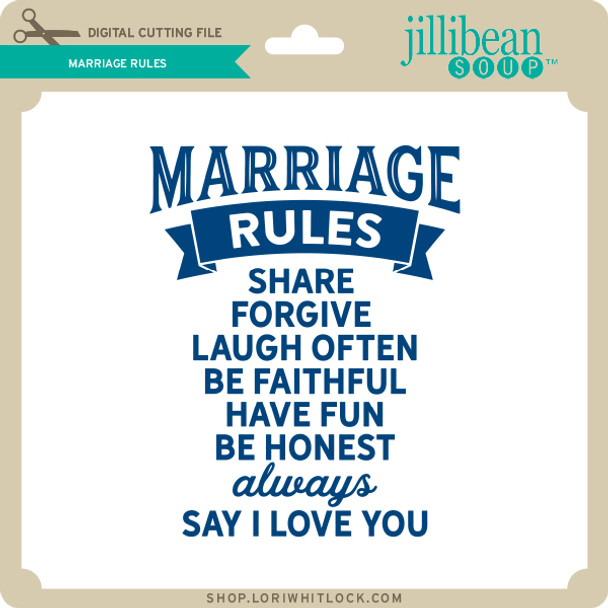 Marriage Rules