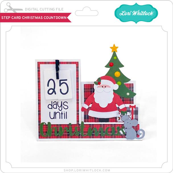 Step Card Christmas Countdown