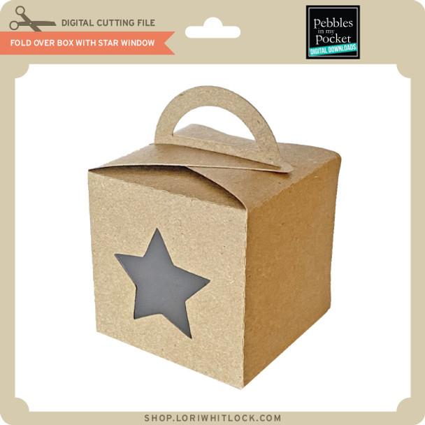 Foldover Box with Star Window