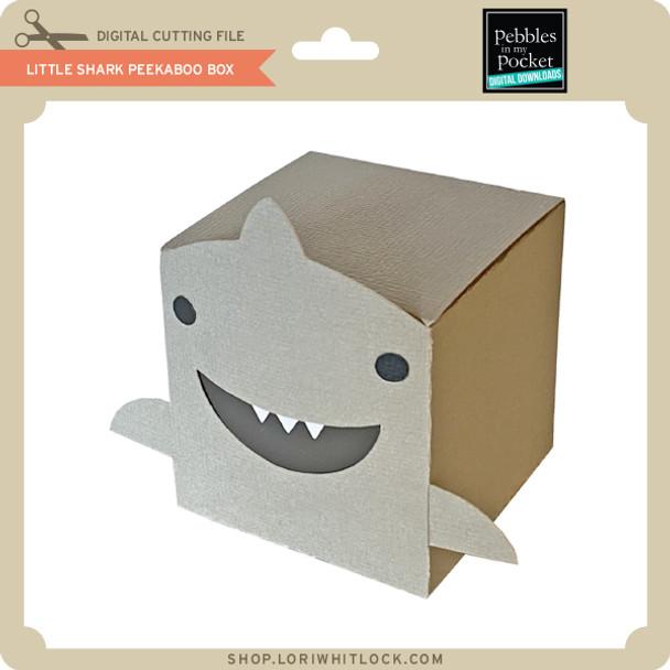 Little Shark Peek A Boo Box
