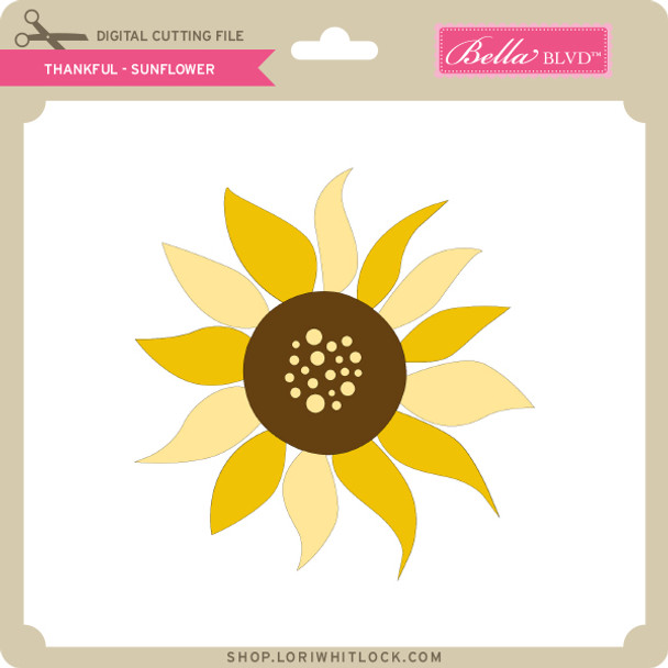 Thankful - Sunflower
