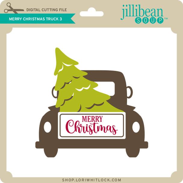 Merry Christmas Truck 3
