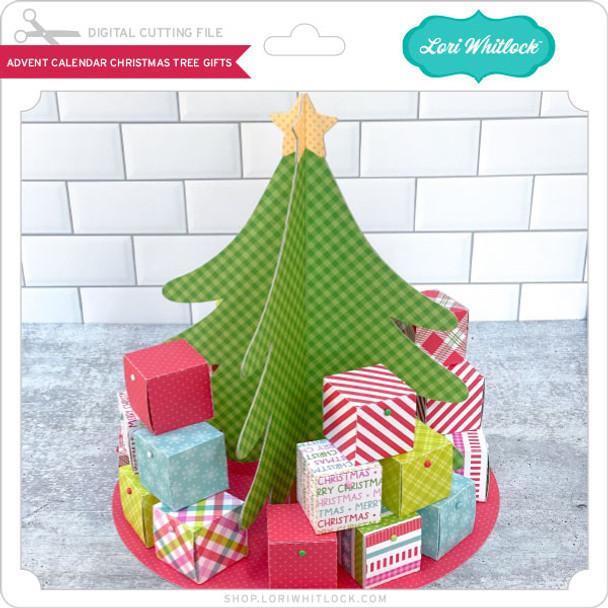Advent Calendar Christmas Tree Gifts