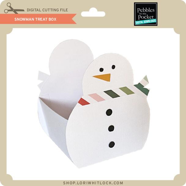 Snowman Treat Box