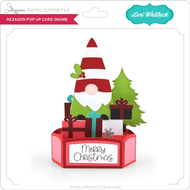Hexagon Pop Up Card Gnome