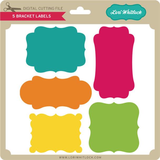 5 Bracket Labels