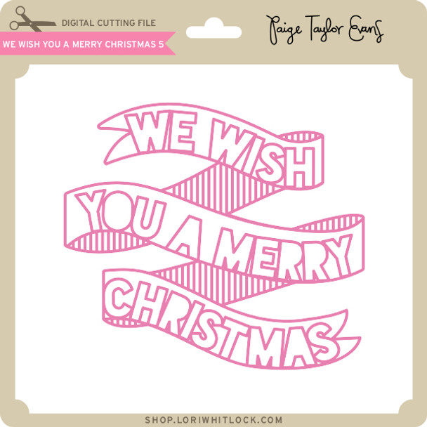 We WIsh You a Merry Christmas 5