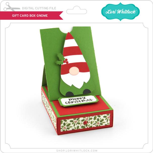 Gift Card Box Gnome