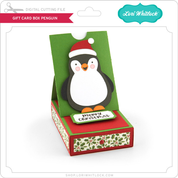 Gift Card Box Penguin