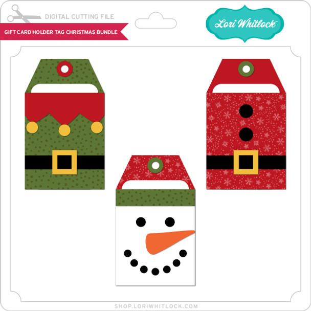 Gift Card Holder Tag Christmas Bundle