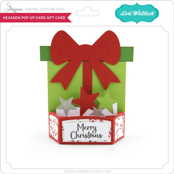 Hexagon Pop Up Card Gift Card