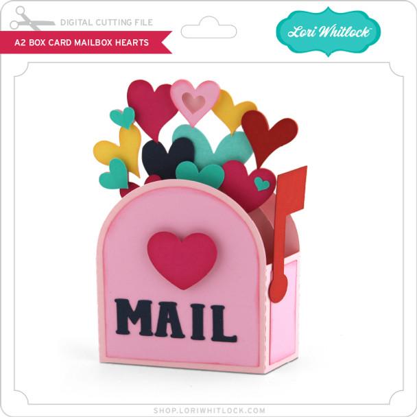 A2 Box Card Mailbox Hearts