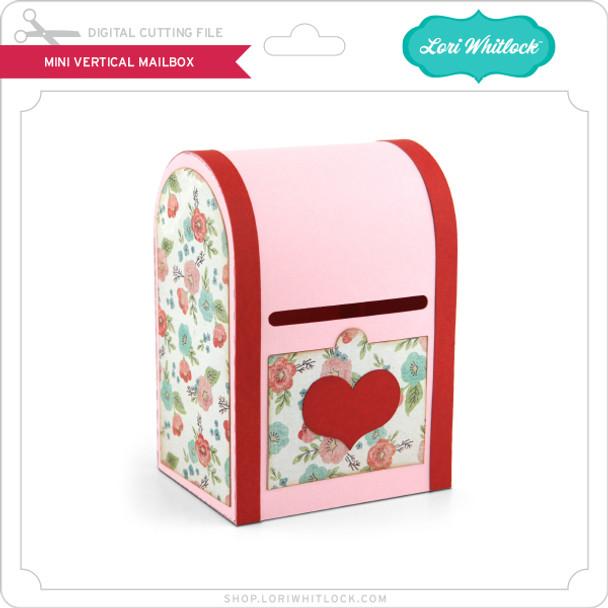 Mini Vertical Mailbox