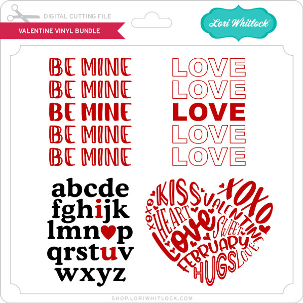 Valentine Vinyl Bundle