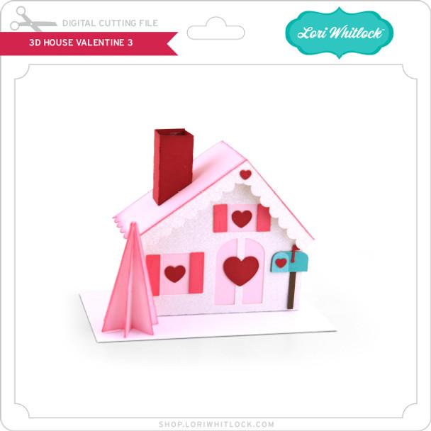 3D House Valentine 3