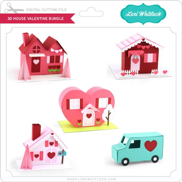 3D House Valentine Bundle