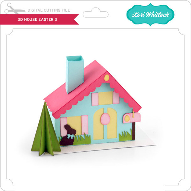 3D House Easter 3