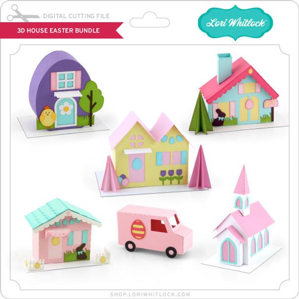 3D House Easter Bundle