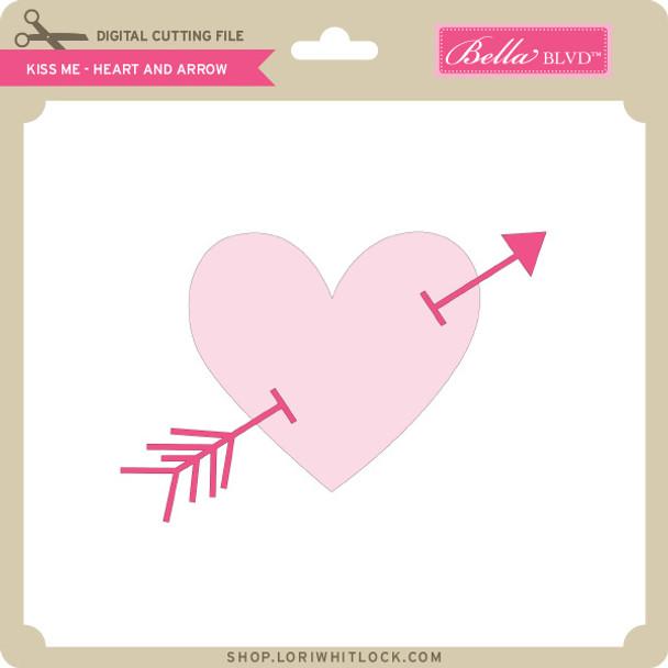 Kiss Me - Heart and Arrow
