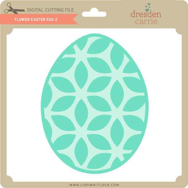 Flower Easter Egg 2