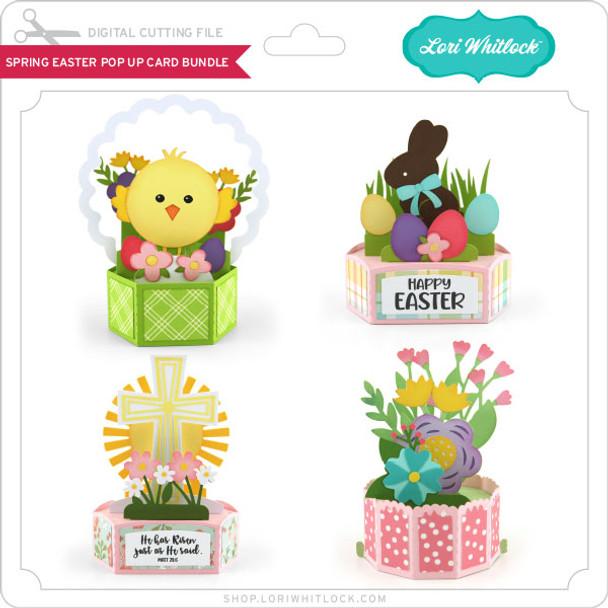Spring Easter Pop Up Card Bundle