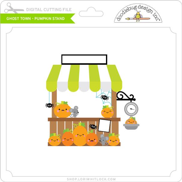 Ghost Town - Pumpkin Stand