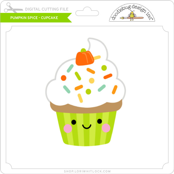 Pumpkin Spice - Cupcake