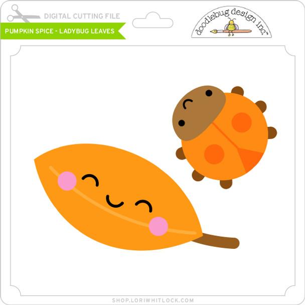 Pumpkin Spice - Ladybug Leaves